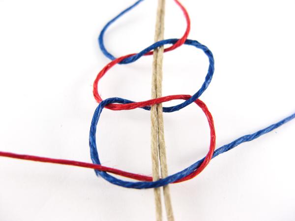 series of half knots